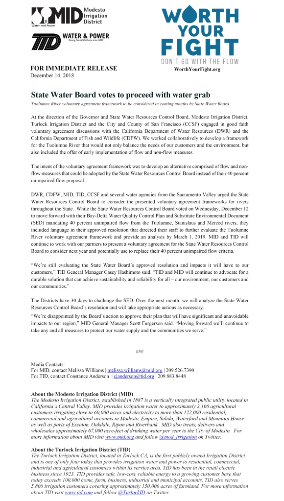 SED Adoption Press Release